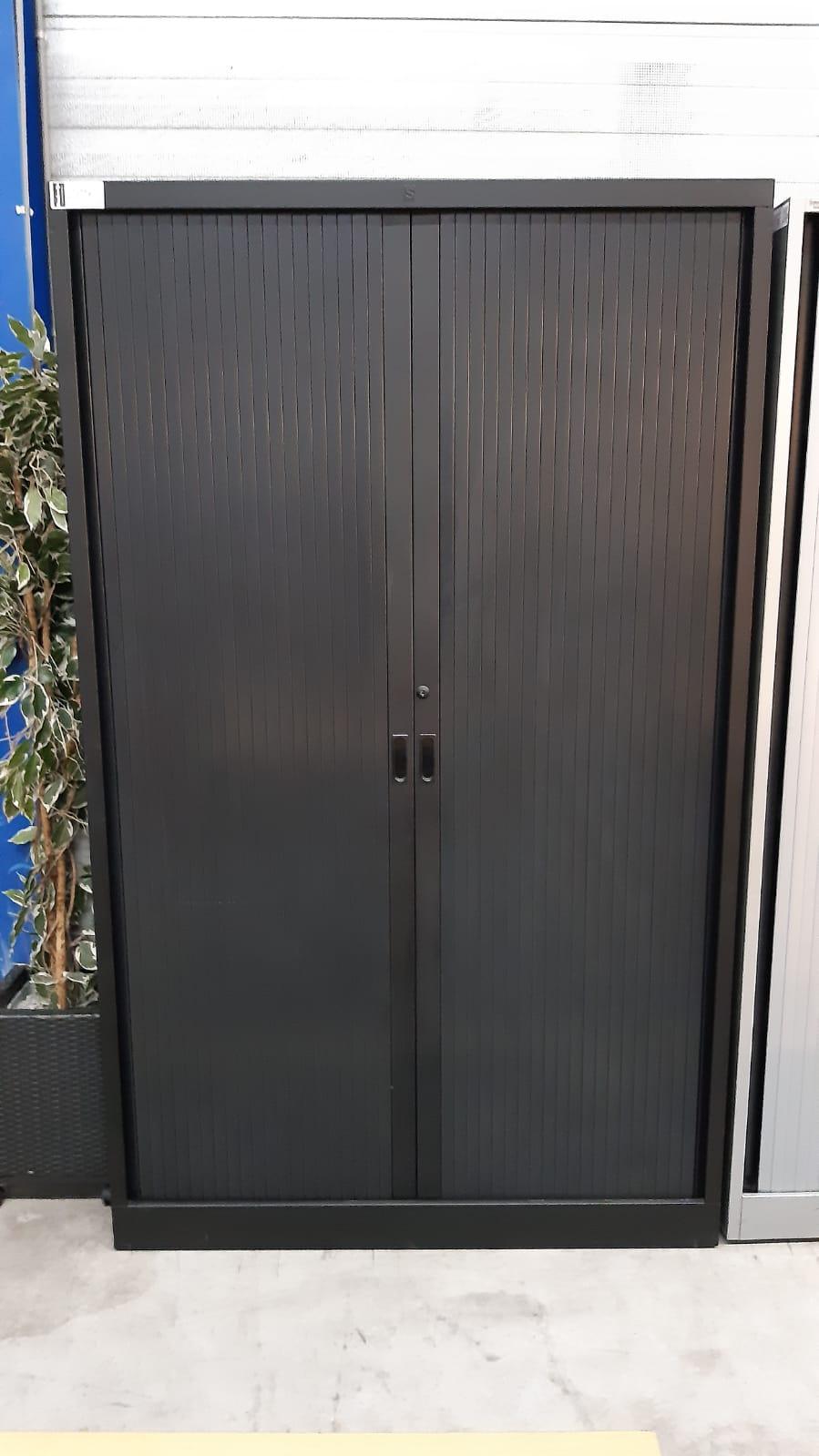 roldeurkast 195x120x45 zwart 225