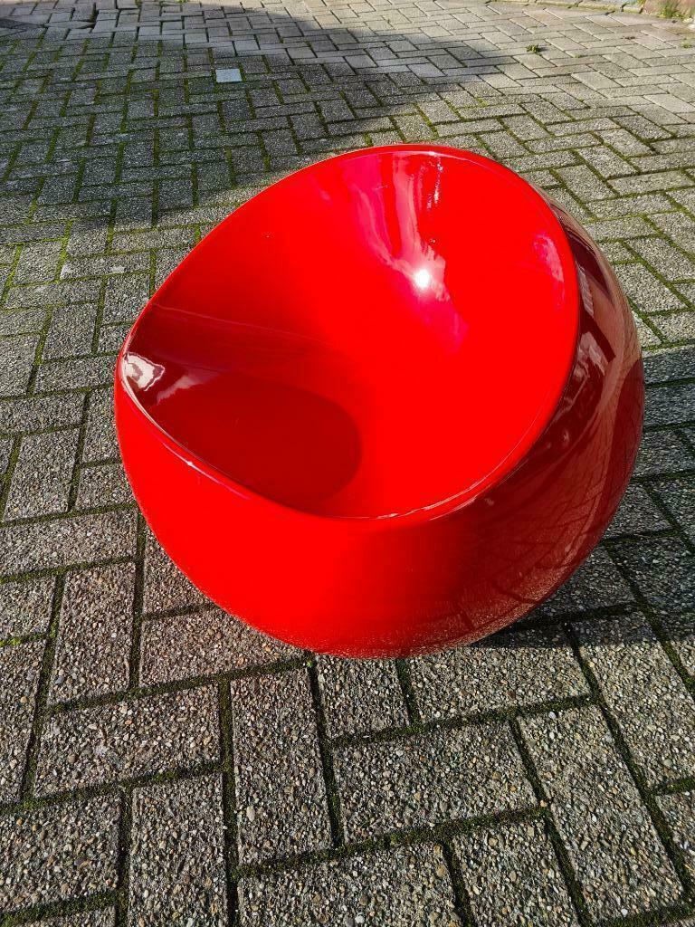 ballchair rood 2